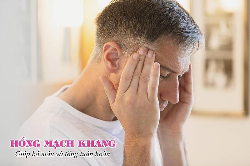 Thiếu máu lên não gây đau đầu kéo dài